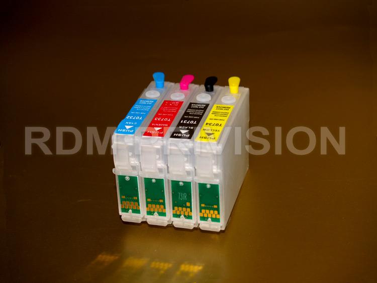 Чернила rdm серии 13p cyan подходят для принтеров epson