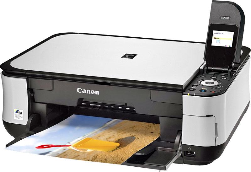 скачать драйвера для принтера canon mp 540