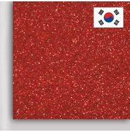 Пленка PROFI FLEX Glitter (DMGL-03) Red, 1м