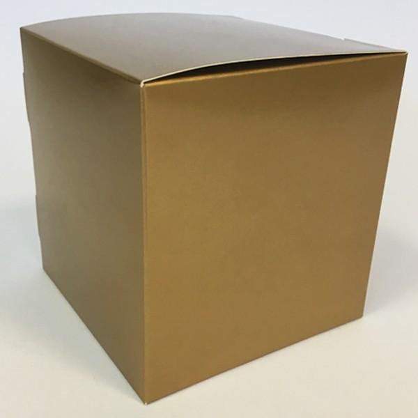 Коробка для кружки золото