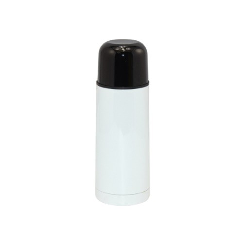 Термос 350мл (металл, цвет белый)