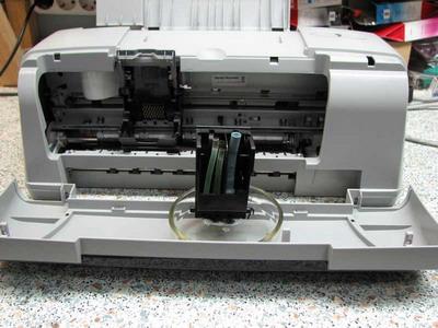 Промывка для принтера своими руками
